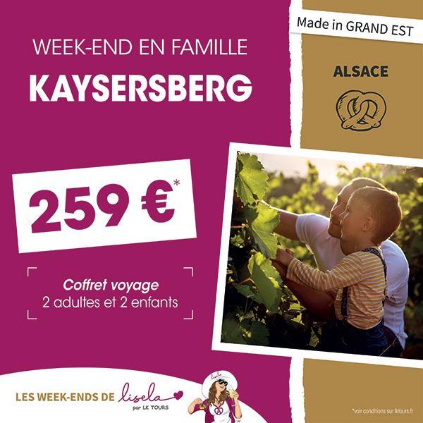 WEEK-END EN FAMILLE KAYSERSBERG