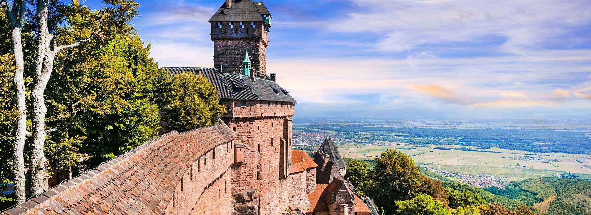 Alsace, Escapade, France_Alsace_Haut-Koenigsbourg